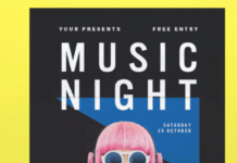 Music Night Flyer1