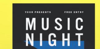 Music Night Flyer1