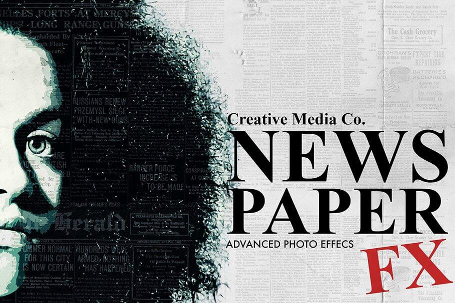 Old Newspaper - Advanced Photo FX