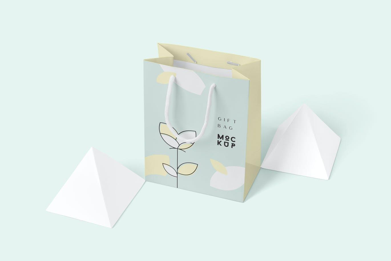 Paper Gift Bag Mockups