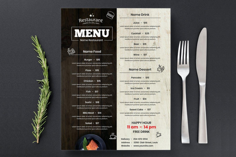 Restaurant Menu Template (4)