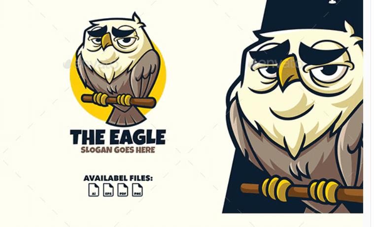 The Eagle - Logo Mascot