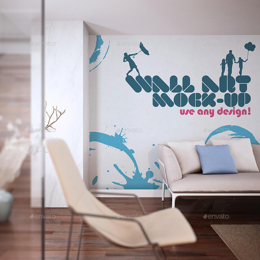 Wall Art Mock-Up vol.4