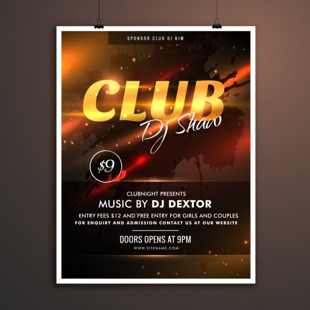 music flyer 2