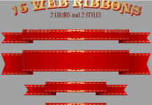 16 Web Ribbons