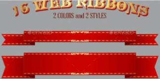 16 Web Ribbons