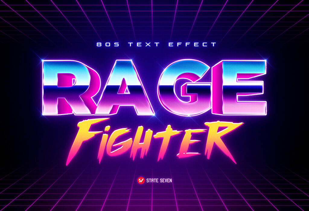 80s Text Effects V1 (1)