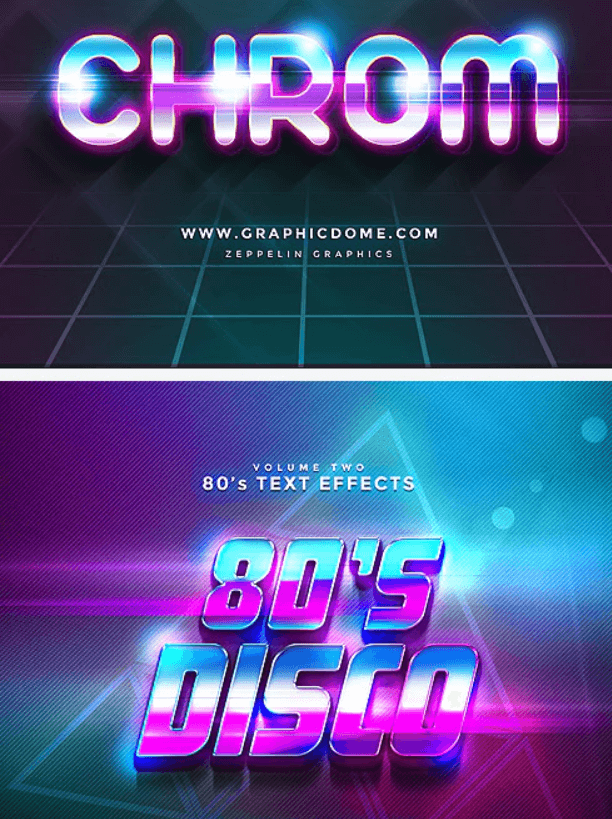 80s Text Effects1