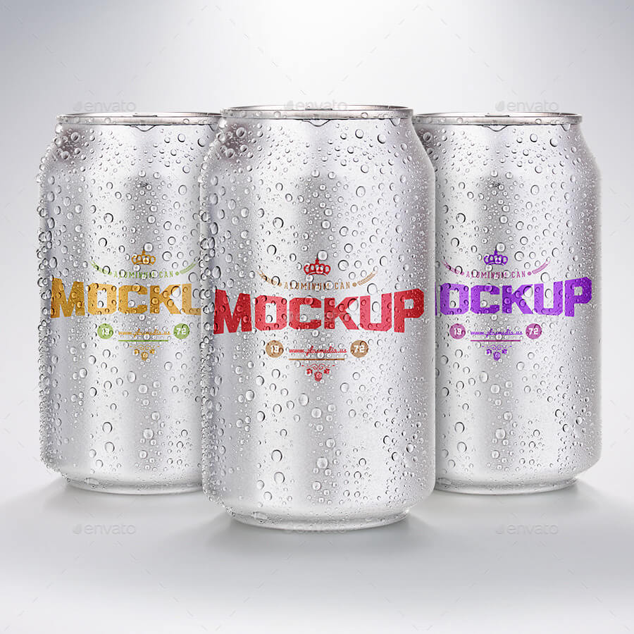 Aluminium Can Mock-Up (1)