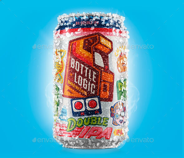 Beer Soda Can Mockup (1)