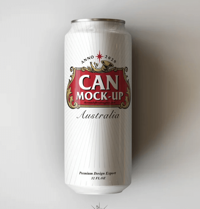 Crowler Beer Can