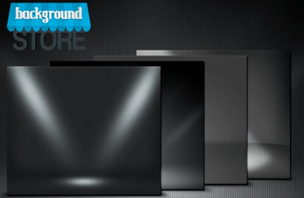 Dark Spotlight Room Background