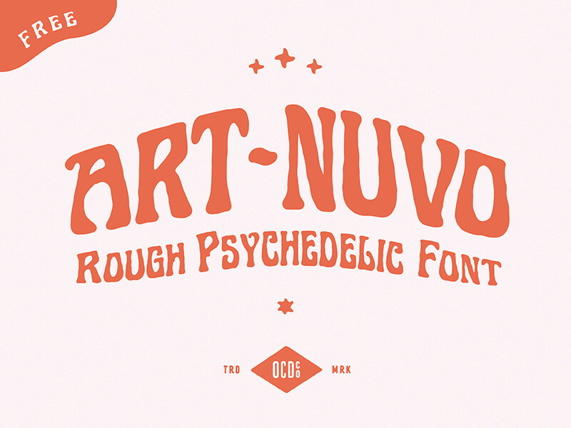 Free Art Nuvo Display Font (2)