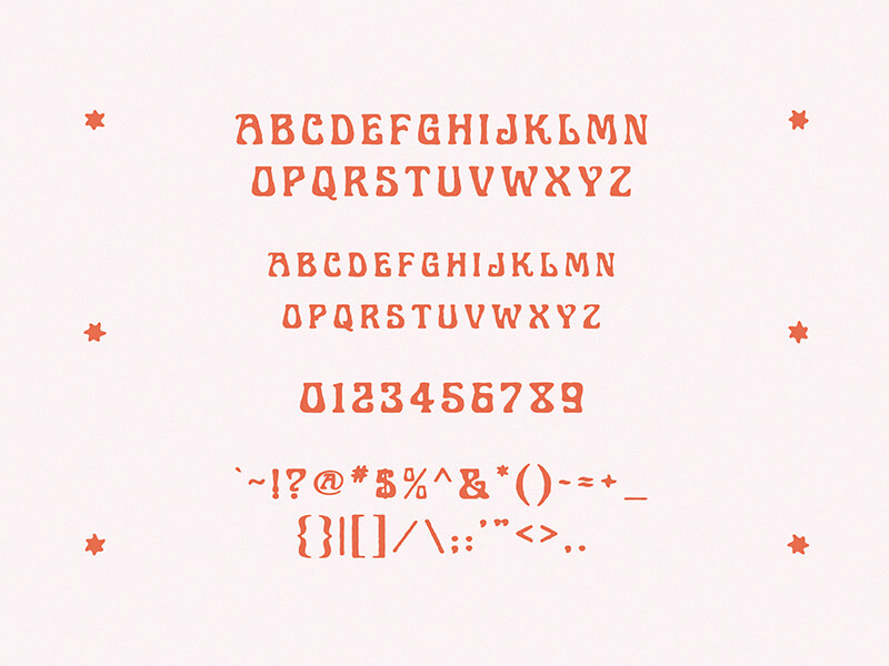 Free Art Nuvo Display Font1 (1)