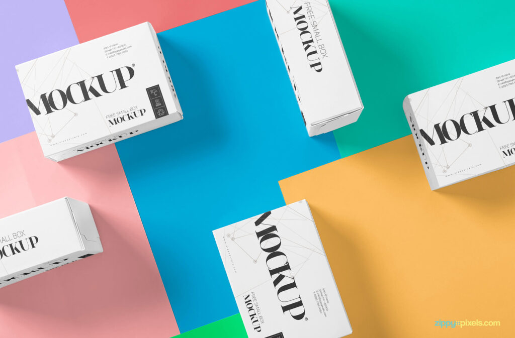 Free Beautiful Packaging Box Mockup PSD Template (1)