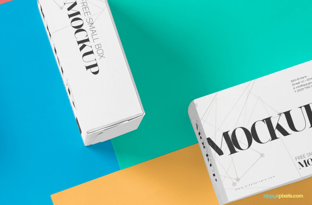 Free Beautiful Packaging Box Mockup PSD Template2 (1)
