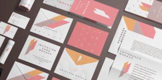 Free Branding Stationery Mockup Scene Mockup PSD Template (1)