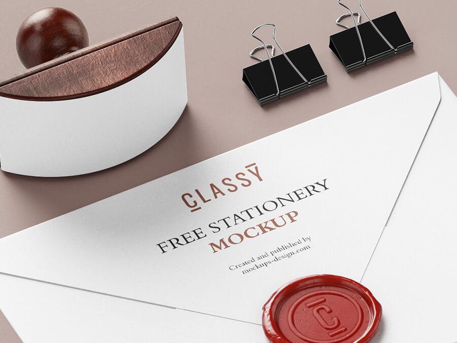 Free Classy Stationery Mockup PSD Template1 (1)
