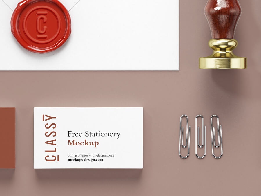 Free Classy Stationery Mockup PSD Template2 (1)