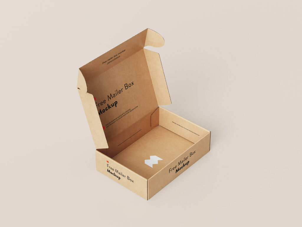 Free Crafted Mailer Box Mockup PSD Template2 (1)