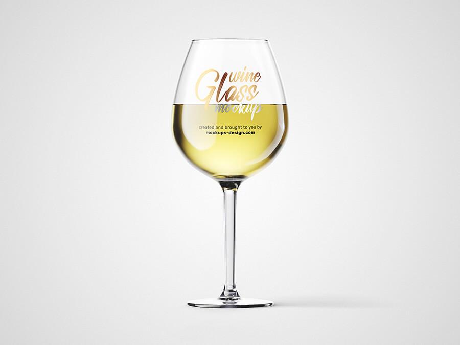 Free Fresh Wine Glass Mockup PSD Template1 (1)
