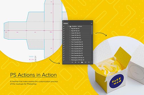 Free Generous Paper Box Mockups Set PSD Template2 (1)