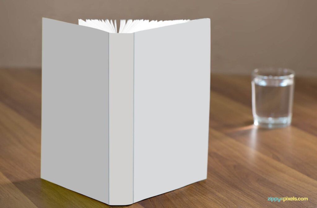 Free Gorgeous Standing Book Mockup PSD Template1 (1)