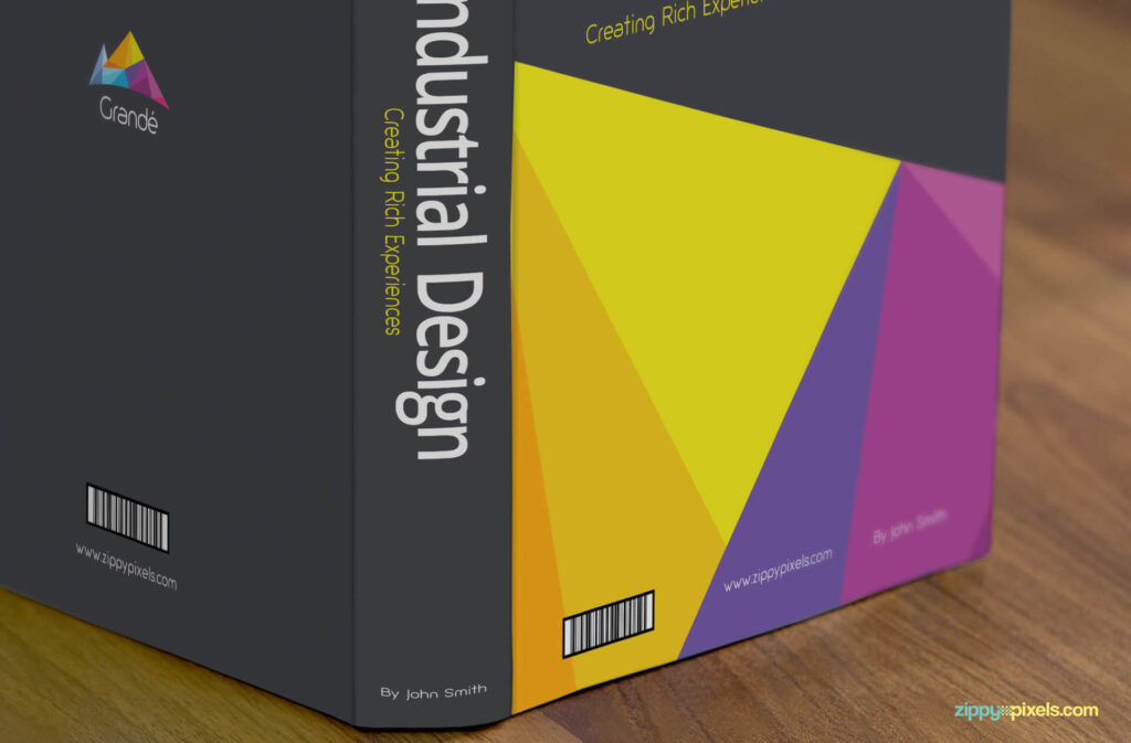 Free Gorgeous Standing Book Mockup PSD Template2 (1)