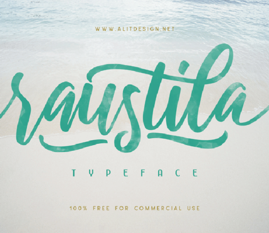 Free Handlettering Raustila Script (1)