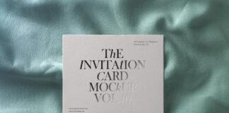 Free High Quality Invitation Card Mockup PSDF Template (1)