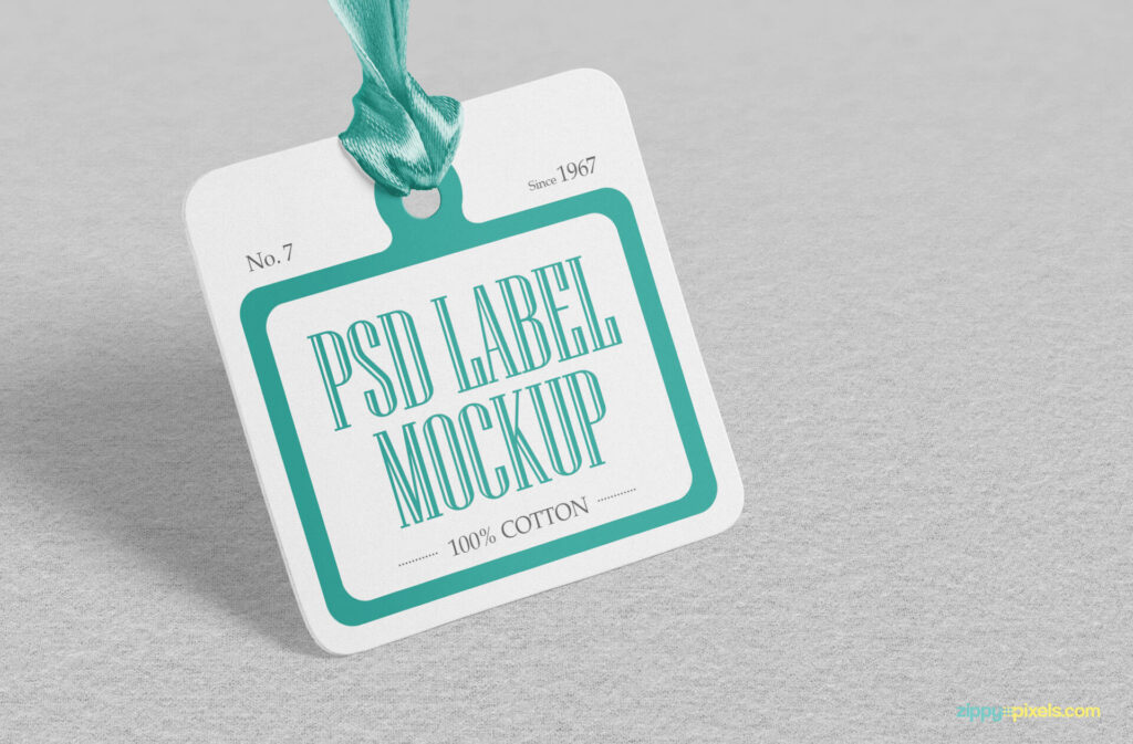 Free Looking Excellent Cloth Tag Mockup PSD Template2 (1)