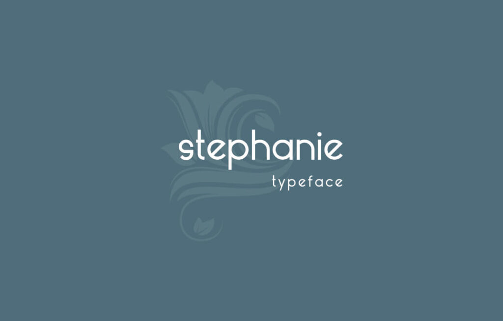 Free Lowercase Stephanie Font (1)