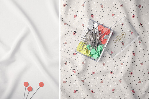 Free Masterpiece Creased Fabric Mockup PSD Template2 (1)
