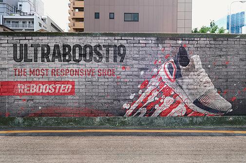 Free Mural Wall Mockup Scenes PSD Template2 (1)