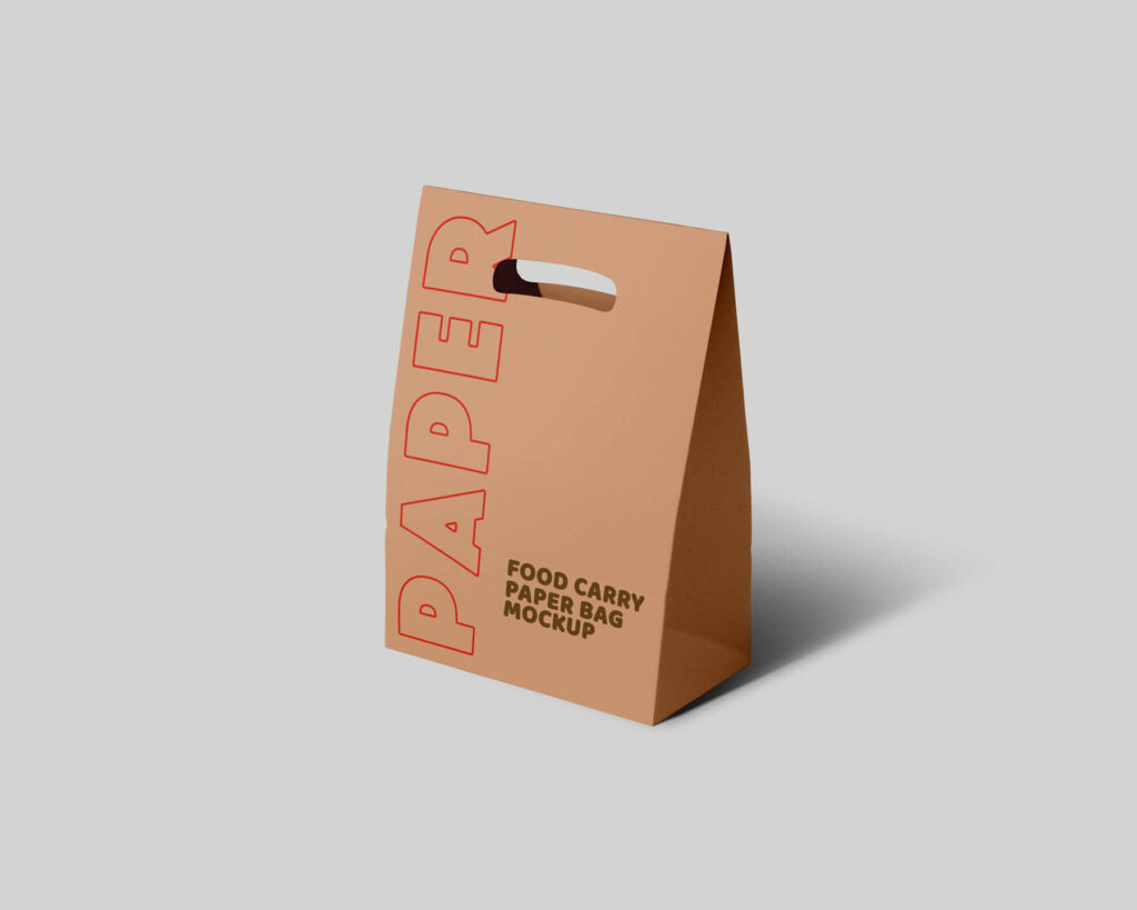 Free Paper Carry Bag Mockup PSD Template (1)