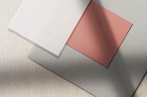 Free Precious Paper Mockup Scene PSD Template (1)