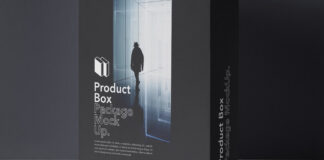Free Product Box Package Mockup PSD Template (1)