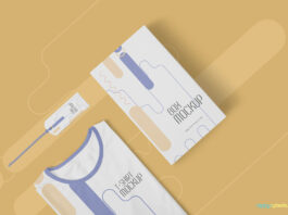 Free Professional T-Shirt Mockup PSD Template