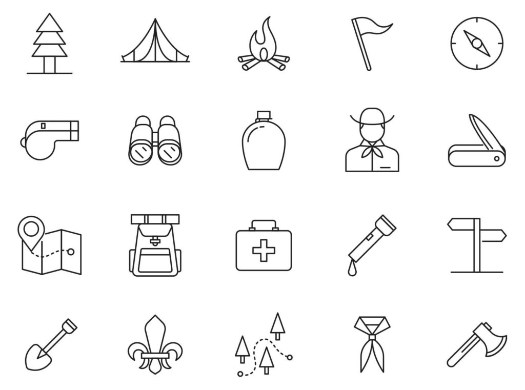 Free Realistic 20+ Scout Vector Icons (1)