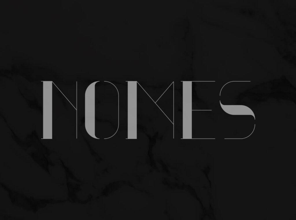 Free Serif Nomes Typeface (1)