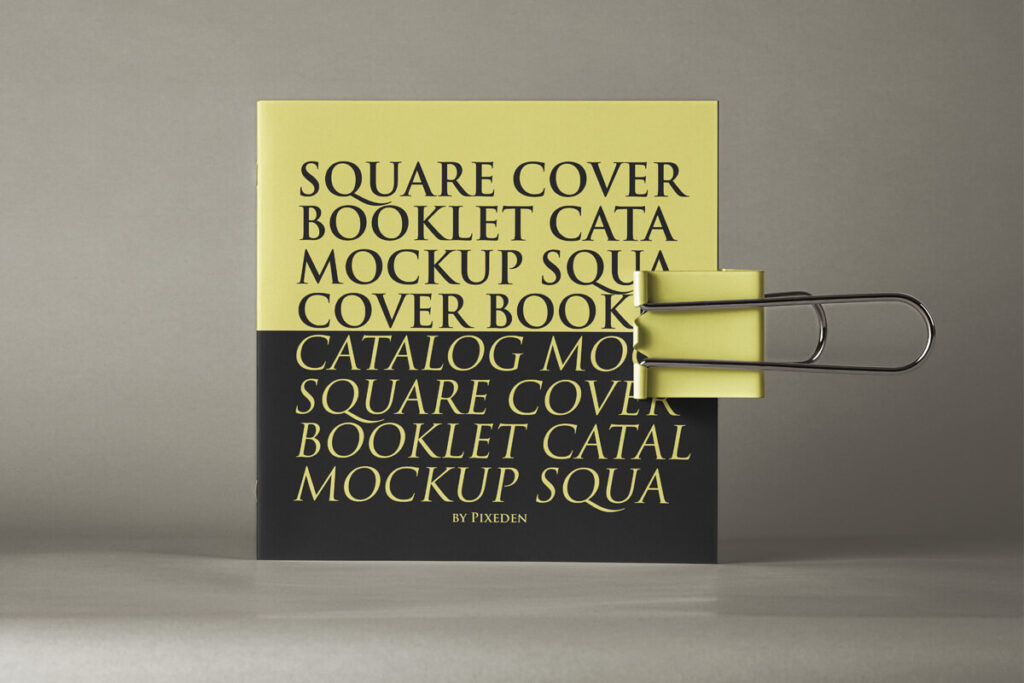 Free Stunning Square Brochure Mockup PSD Template (1)