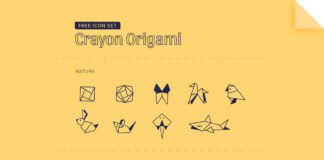Free Transparent Origami Vector Icon Set (1)