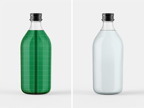 Free Transparent Tonic Bottle Mockup PSD Template1 (1)