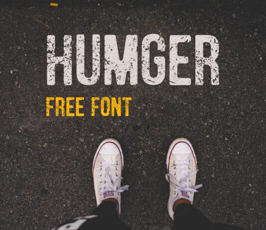 Free Vintage Humger Font (1)
