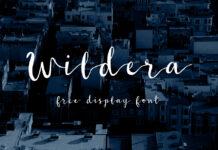 Free Wildera Display Fonts
