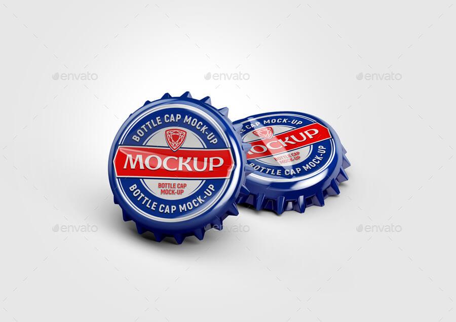 Metal Bottle Caps Mock-up (1)