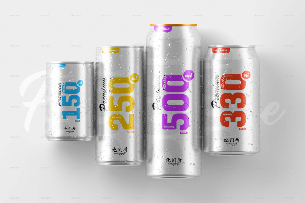 Multisize Soda Can Mockup (1)