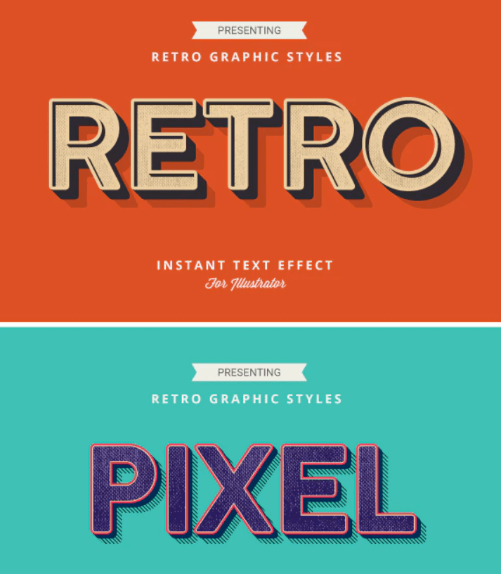 Retro Vintage Text Effects2