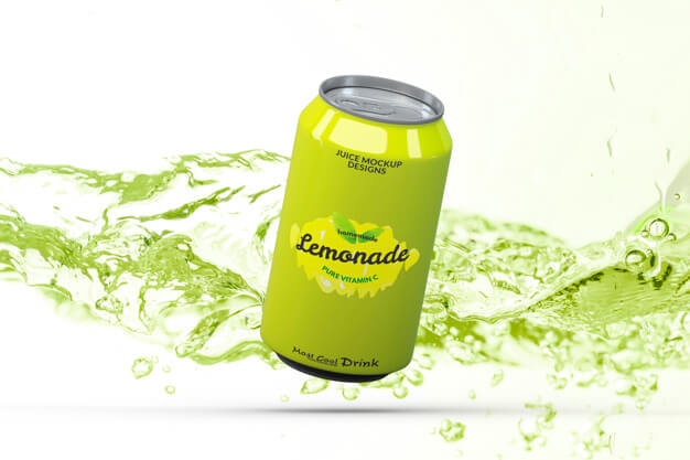 Soda can mockup Free Psd (1)