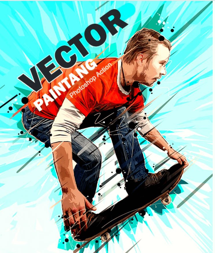 Vector Painting Photoshop Action (1)